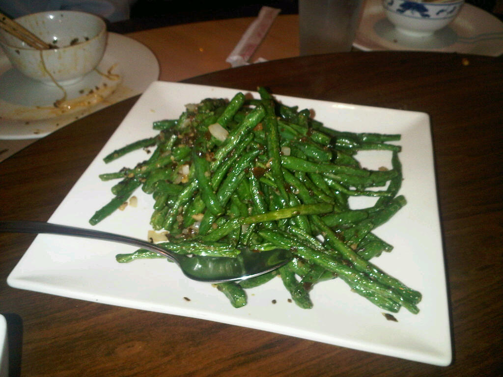Dry-fried string beans - ATL Food Snob