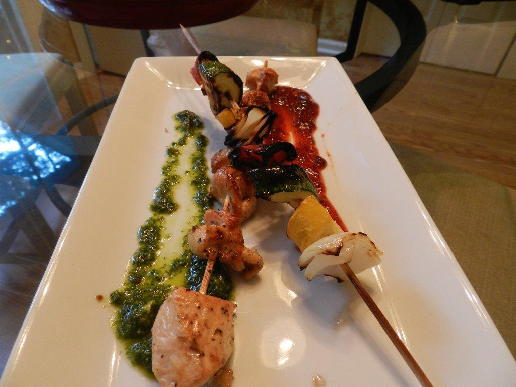 Chicken Yakitori w/Chimichurri & Chipotle Honey