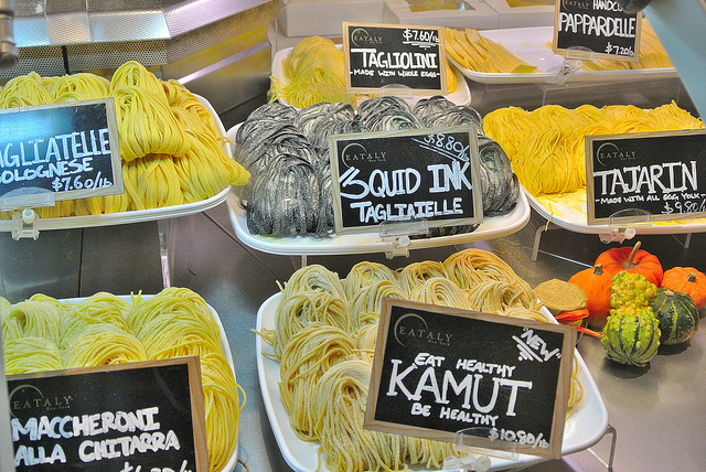 Fresh pasta makes all the difference!
