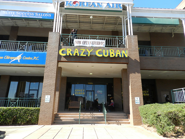 Crazy Cuban - i the same shopping center as Mellow Mushroom