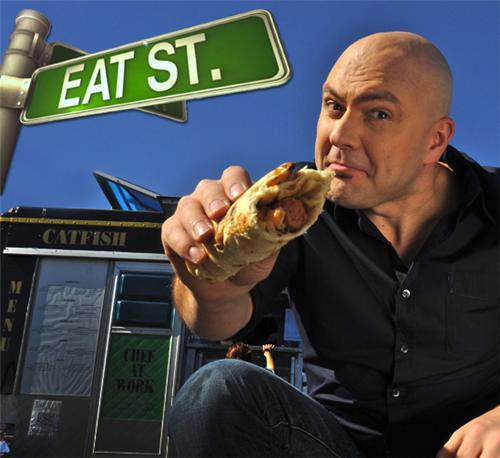 Eat Street host James Cunningham