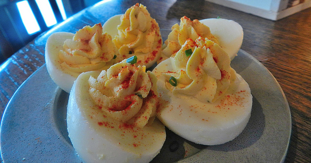 Pretty solid deviled eggs