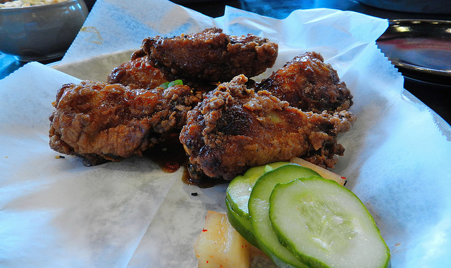 Sobban wings - a must order in my opinion