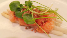 Artic Char Crudo - you need to order this!