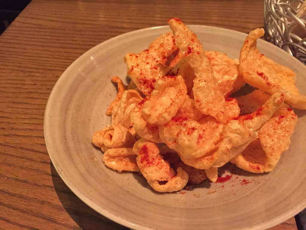 Spicy chicharrones